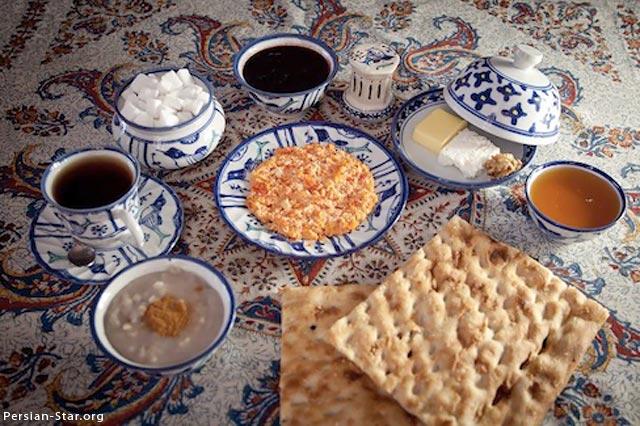 عکس صبحانه های ایرانی